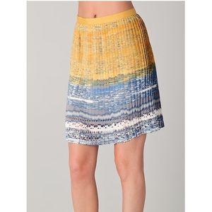 Elie Tahari Mary Pleated Skirt